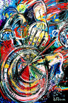 The Cyclist by Ruth Brown