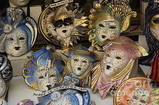 Traditional Venetian masks  by Sami Sarkis