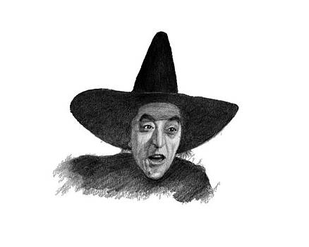 Wicked Witch of the West by Lou Ortiz