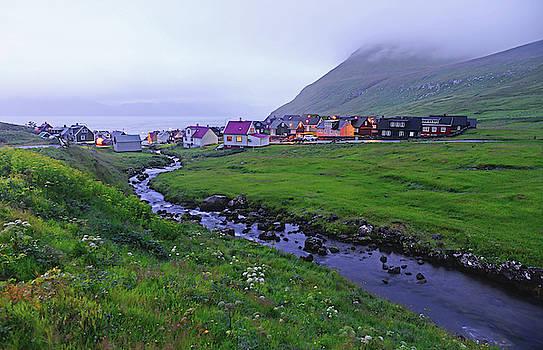 Village of Gjogv in Eysturoy, Faroe Islands by Nano Calvo