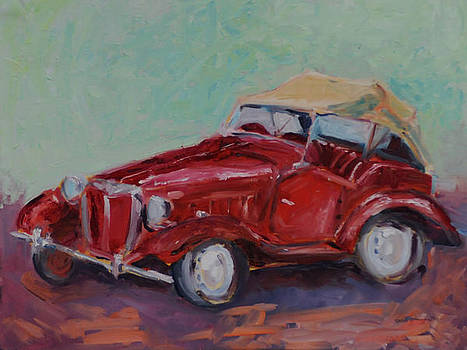 1952 Mg  by Susie Jernigan