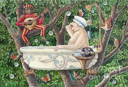 Bath Tub Serenade by Ann Gates Fiser
