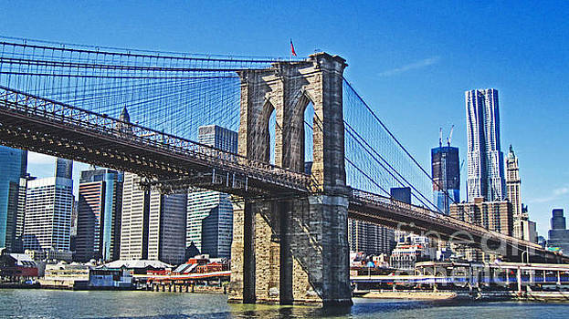 Brooklyn Bridge  by Alison Tomich