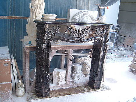 Fireplace by Memo Memovic