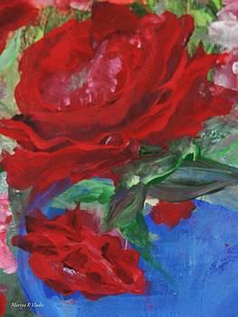 Red Rose by Marina R Raimondo