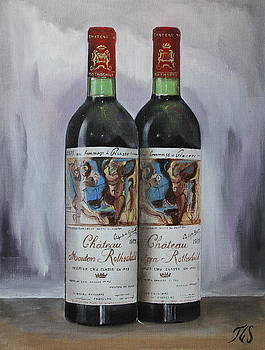 Chateau Mouton Rothschild 1973 by Tommy G Sundman