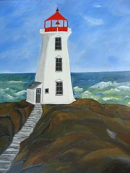 Peggy's Cove by Beverly Livingstone