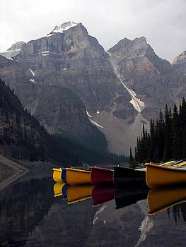 Valley Of The Ten Peaks by Robert Lozen