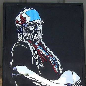 Willie Nelson by Tom Runkle