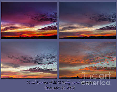 4 Views of Sunrise 2 by Michael Waters