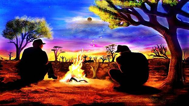 A Camp Fire by Dlbt-art