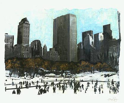A Central Park Skate by Bonnie Sprung