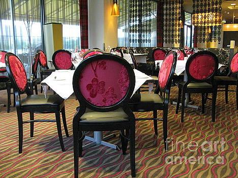 A Cozy Dining Place by Ausra Huntington nee Paulauskaite