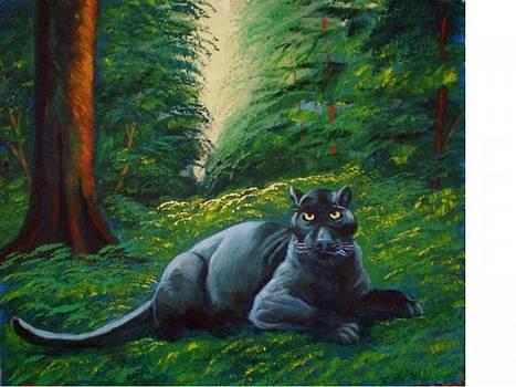 A gaze on the jungle by Jean Pierre Bergoeing