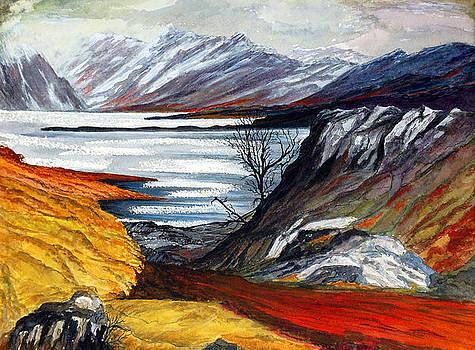 A Scottish Loch by Fay Reid