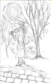 A Song For The Night - Sketch by Robert Meszaros