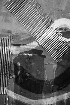 Abstract  19614 cropped VI   greyscale by John  Nolan