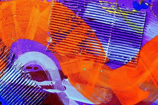 Abstract  19614 cropped V by John  Nolan