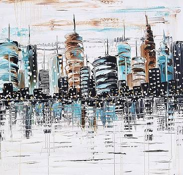 Abstract City by Jolina Anthony