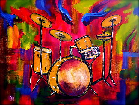 Abstract Drums II by Pete Maier