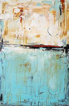 Abstract In Turquoise 2 by Jolina Anthony