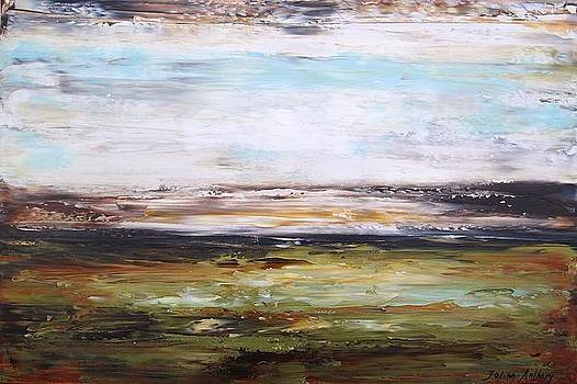 Abstract Landscape by Jolina Anthony