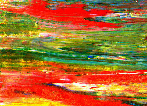 Abstract no 11 by Christine Minnee