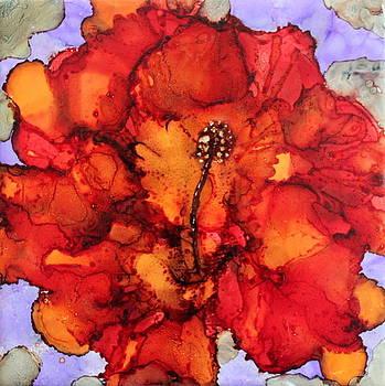 Accidental Hibisbus by Patricia Holmberg