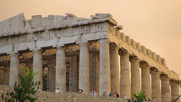 Acropolis of Athens  by Suzy  Godefroy