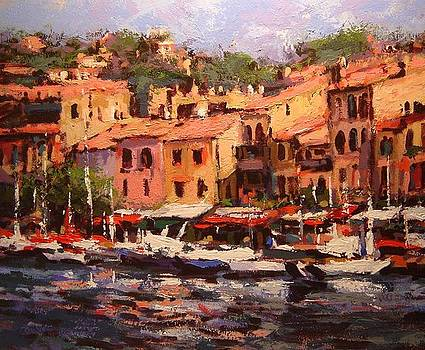 Afternoon in Cassis by R W Goetting