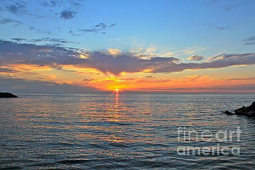 Ahhhh Beautiful Sunset by Jay Nodianos