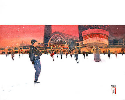 Alex in Winter by Omar Jaramillo