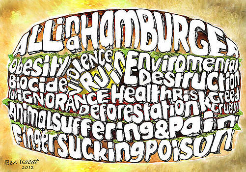 All in a Hamburger by Ben Isacat