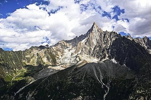 Alps Mountain Meltwater by Chris Wooldridge