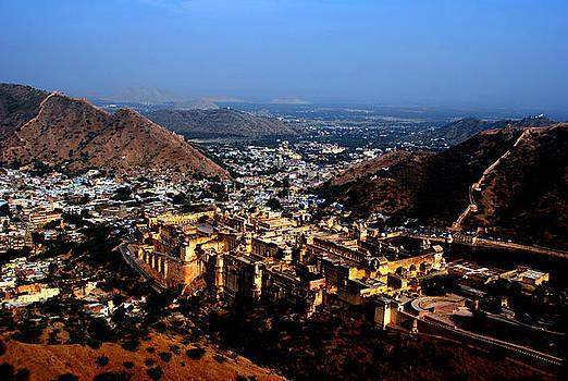 Amber Palace - Jaipur- Rajasthan- Viator's Agonism by Vijinder Singh