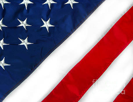 American flag by Cheryl Casey