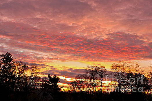 An October Sunrise 3 by Jay Nodianos
