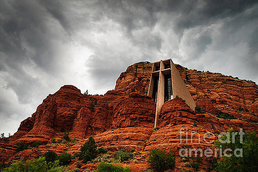 Anchored on the Rock Sedona AZ by Terry Garvin