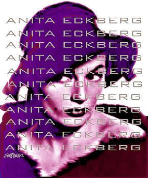 Anita Eckberg in Wine by Seth Weaver