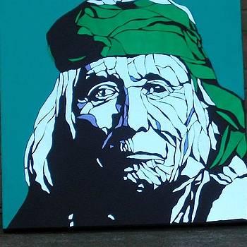 Apache Elder by Tom Runkle
