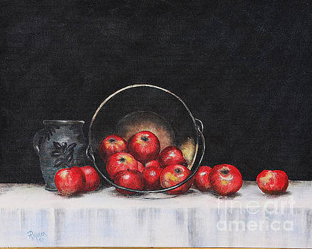 Apple Still Life by Rita Miller