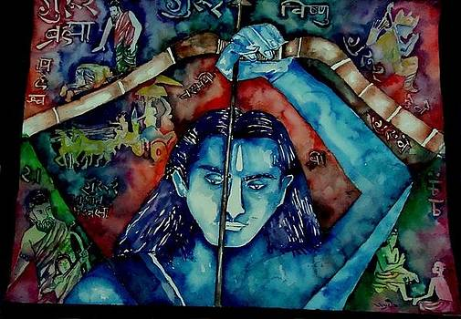 Arjuna by Abhrodeep Mukherjee