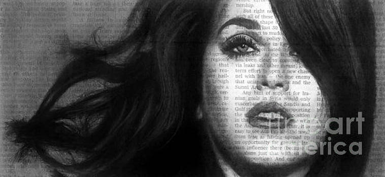 Art in the News 37- Katy Perry by Michael Cross