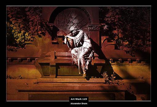 Art Work 119 in tiefer Trauer by Alexander Drum