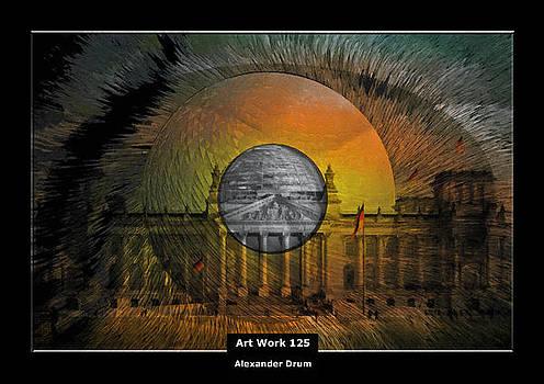 Art Work 125 Reichstag Berlin by Alexander Drum