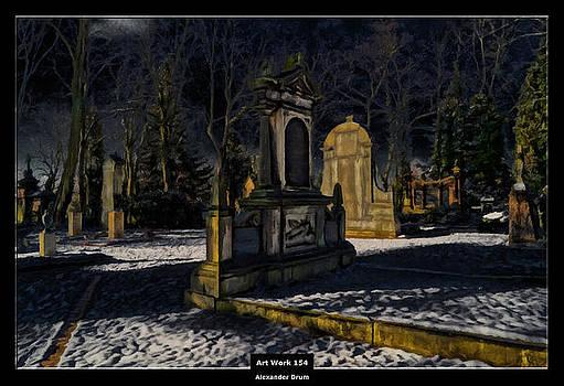 Art Work 154 cemetery by Alexander Drum