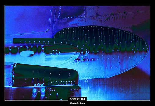 Art Work 161 blue by Alexander Drum