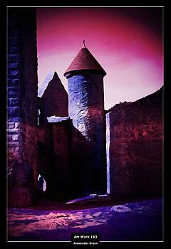 Art Work 163 Castle Lichtenberg by Alexander Drum
