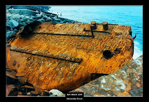 Art Work 194 wreck by Alexander Drum