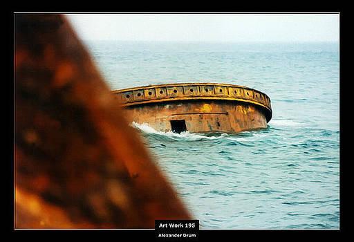Art Work 195 wreck by Alexander Drum